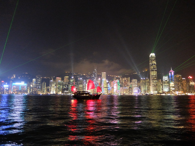 香港・マカオ旅行3日目 ~食べ歩いたり、夜景見たり~