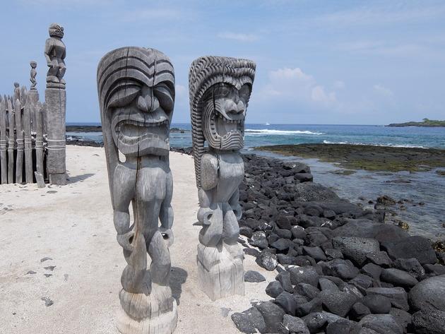 GWフライング旅行:ハワイ島6日目 ~同日に2回も行ったホルアコアガーデンズ、UCCコーヒー農園、再訪のアンダーザボッディツリーなど~