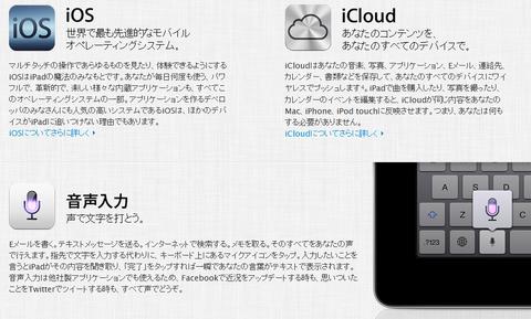 新iPad特徴