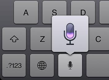 新iPad音声入力