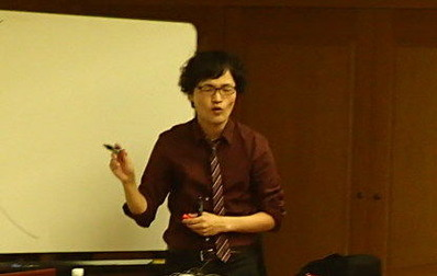 「熱意ある生田先生」ウイルス講演会