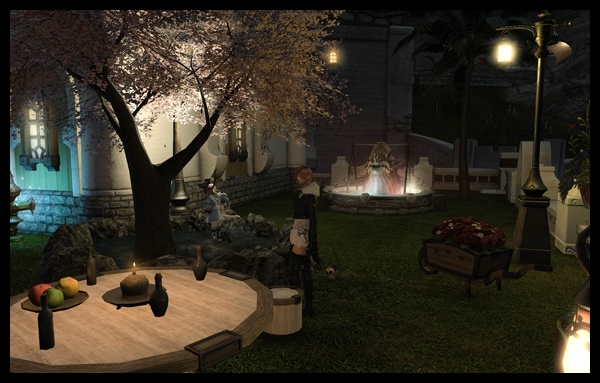 【FF14】庭完成だー(やっつけ)
