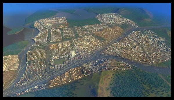 【シティーズ:スカイライン】人口20万人達成したものの・・・