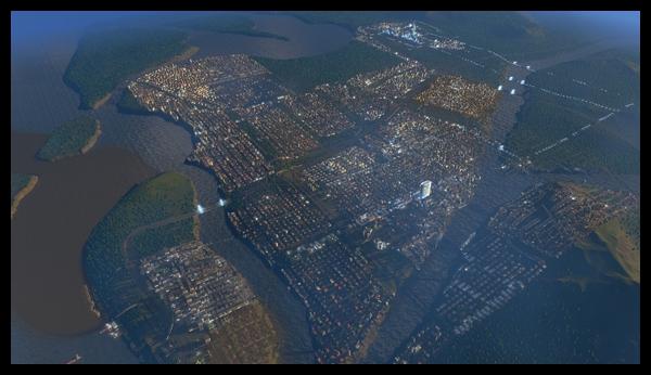 【シティーズ:スカイライン】観光特化に着手&人口10万人到達