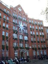 クリスマス装飾ビル