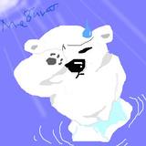 温暖化と白熊