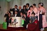 平成21年度卒業祝賀会 記念写真の風景