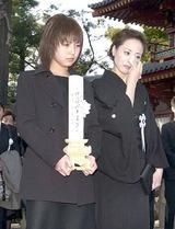 旭輝子さん葬儀