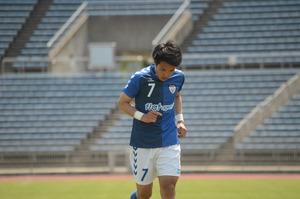 前田は守備でチームに貢献した