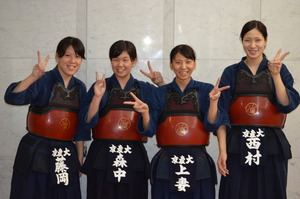 第64回関西学生剣道優勝大会 第40回関西女子学生剣道優勝大会 664