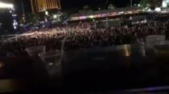 ラスベガス銃乱射事件、動画撮影者が撃たれる瞬間