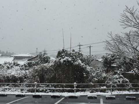 加世田の雪
