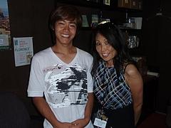 NIC Daisuke w/Harue (DVC staff)