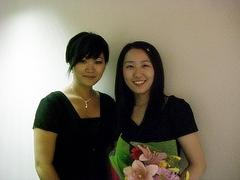 Citrus Collegeで出会った20期生の舟越友紀さん(Music Programで歌を勉強中)