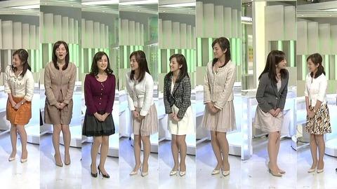 【画像あり】 NHKの女子アナのこの仕草が謎すぎるwwwwwwwwwwwwww