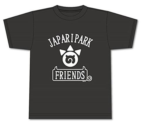 フレンズTシャツ ブラック Lサイズ 「けものフレンズ」