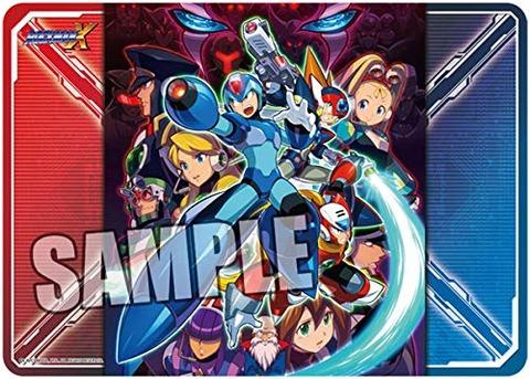 ◆キャラクター万能ラバーマット ロックマンX