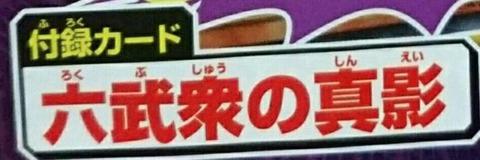 遊戯王 六武衆の真影