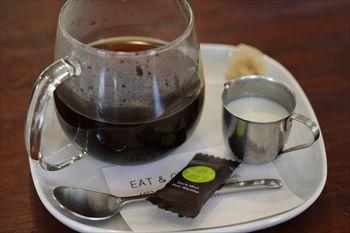 コピスガーデン内にあるカフェ「イート&グリーンカフェ」のドリンク