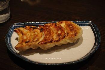 横浜関内にあるラーメン店「おはな商店」の餃子