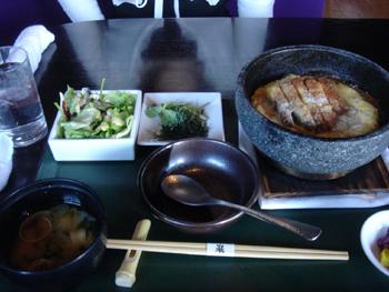 美食 米門の石焼カツ丼