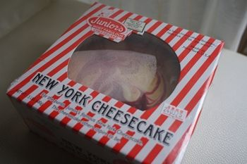 そごう横浜店のニューヨークフーズストリートで買ったチーズケーキ