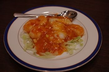 横浜中華街にある中華料理店「翡翠楼新館」のランチ