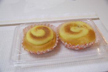 そごう横浜店で開催中の北海道物産展のプリンメロンパン