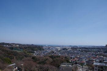 横浜金沢区にある「金沢動物園」からの景色