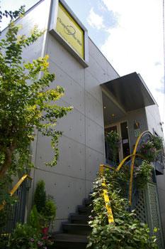 新横浜のおいしいパン屋「シャン ド ブレ」の外観
