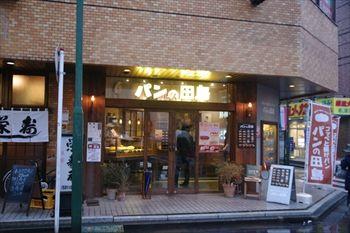 横浜綱島にあるパン屋「パンの田島」の外観