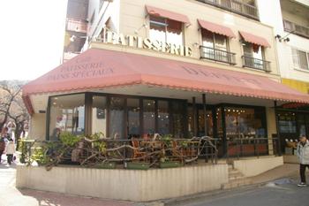たまプラーザの洋菓子店「デフェール」