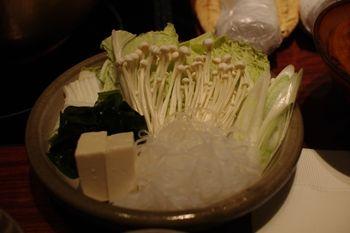 新横浜にあるしゃぶしゃぶ専門店「しゃぶせん」の野菜
