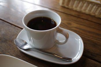 西横浜にある一軒家カフェ「夏至茶屋」のコーヒー