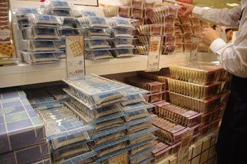 横浜そごうに期間限定出店中の洋菓子のお店「銀のぶどう」の店頭