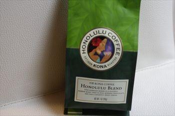 ららぽーと横浜にあるカフェ「ホノルル コーヒー」のコーヒー豆