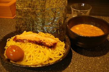 横浜鶴見のラーメン店「ラーメン厨房 麺バカ息子 徹」のつけ麺