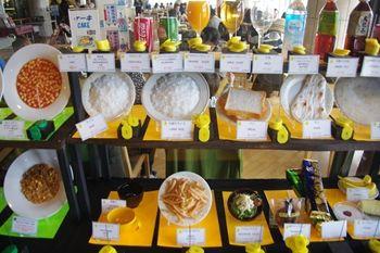 横浜みなとみらいにあるレストラン「ポートテラスカフェ」のメニュー