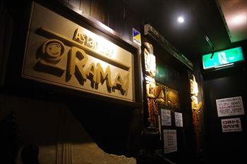 横浜関内にあるスープカレーのお店「ラマイ」の入り口