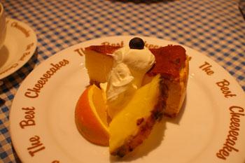 横浜元町のTBC DINER(TBC ダイナー)のチーズケーキ