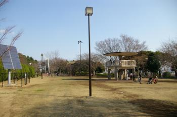 夢見ヶ崎動物公園の広場