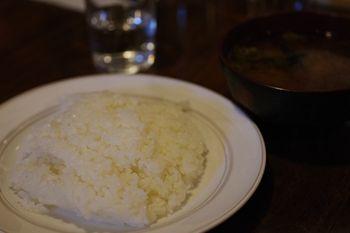 横浜白楽にある洋食屋「キッチン 友」のライス