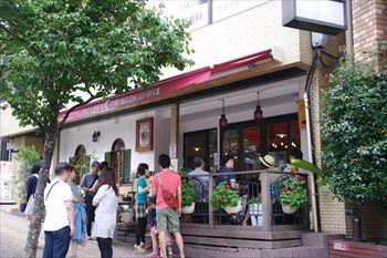 横浜桜木町にある「ピッツァリア キアッキェローネ」の外観