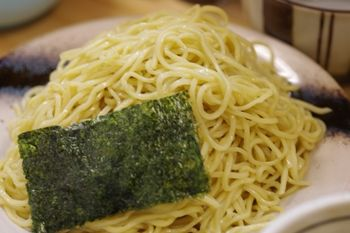 横浜綱島にあるラーメン店「もりの中華そば」のつけ麺