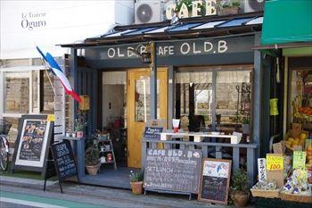 横浜山手にあるカフェ「OLD.B(オールドビー)」の外観