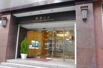 横浜馬車道にある洋菓子店「マクーンヨコハマ」のビル