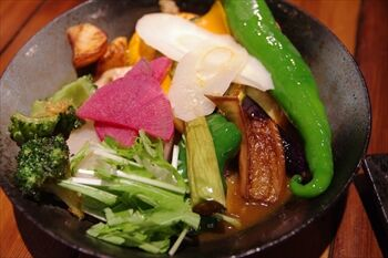横浜関内にあるスープカレーのお店「KIFUKU」のスープカレー