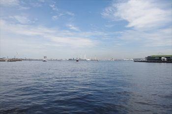 横浜赤レンガ倉庫の「横浜防災フェア2013」訓練場所