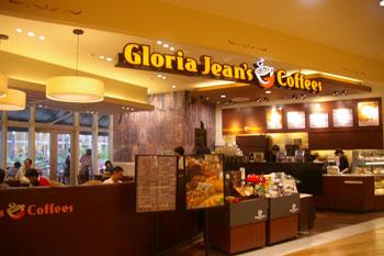 トレッサ横浜のグロリアジーンズコーヒーの店頭