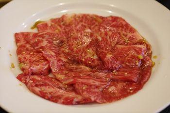 横浜関内にある焼肉屋「関内苑」のお肉